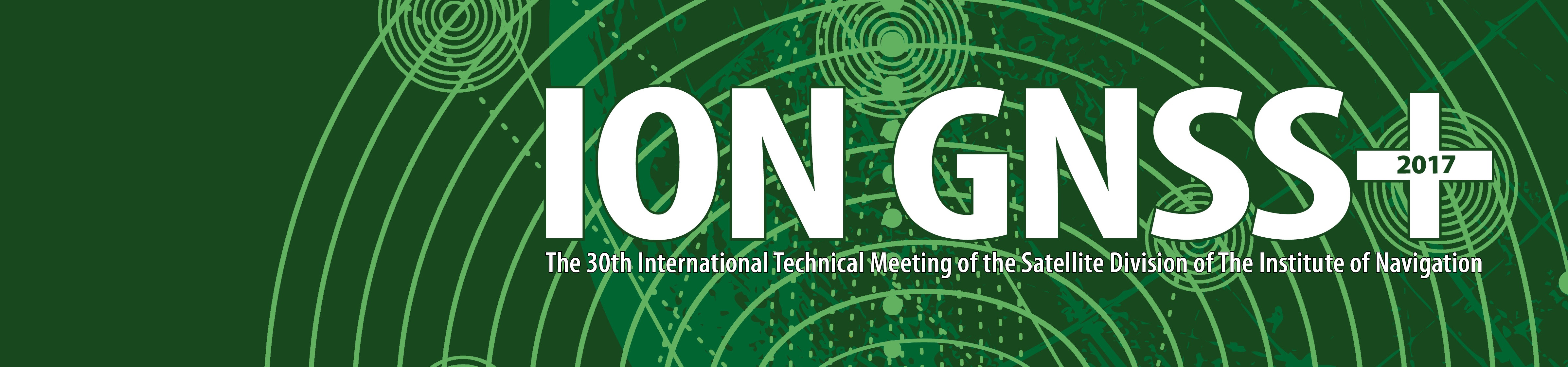 ION GNSS 2017 Subsite Header 5