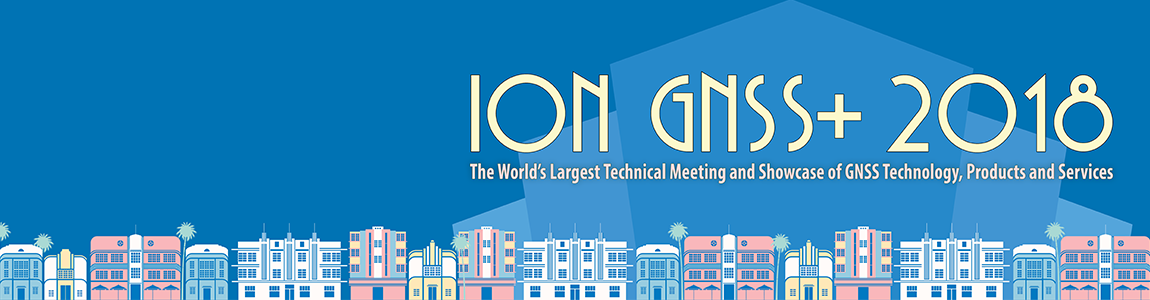 ION GNSS 2018 Subsite Header