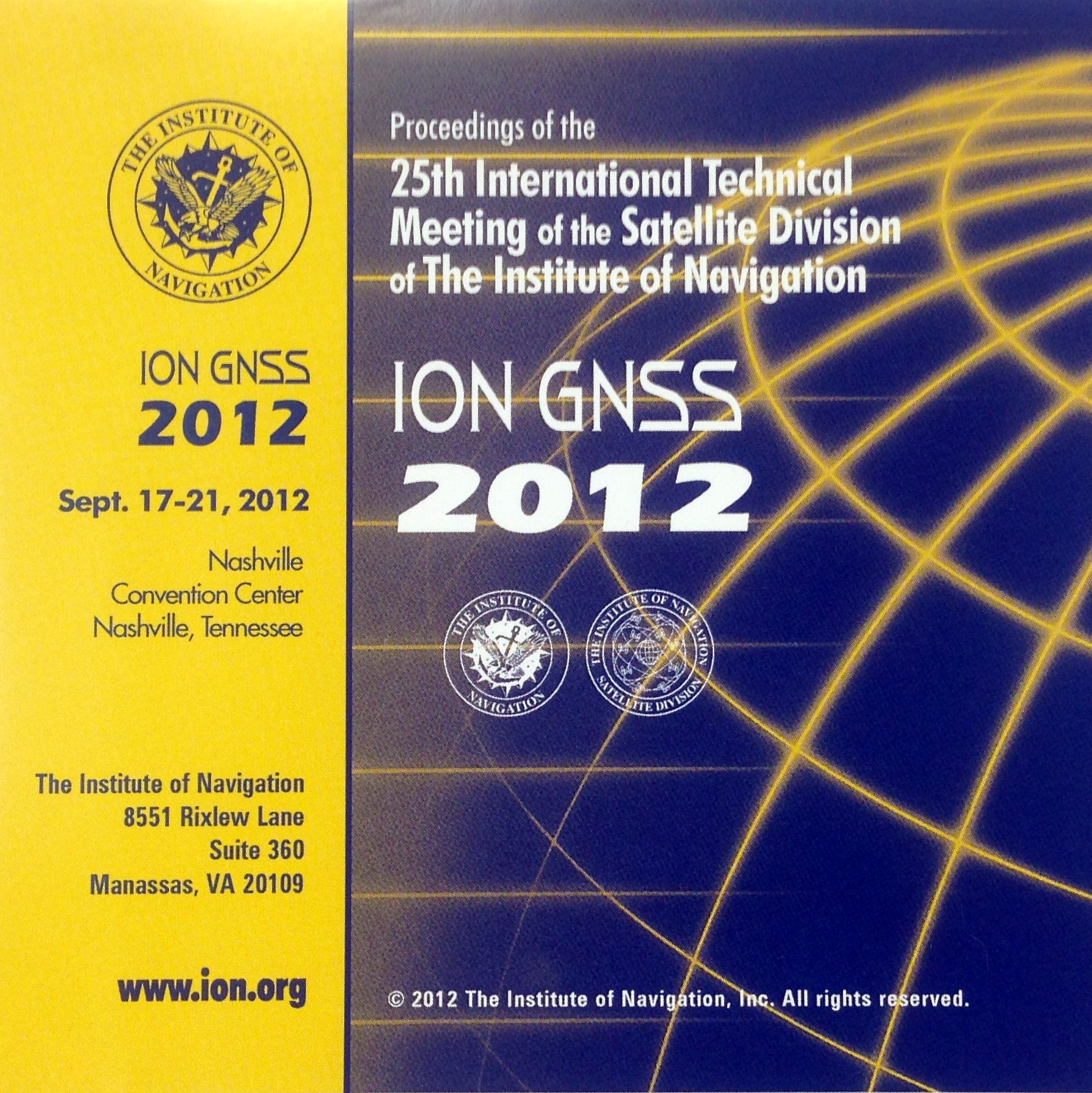 GNSS Proceedings Image